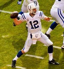 Andrew Luck jersey lucky number 12